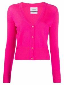 Barrie V-neck cashmere cardigan - PINK
