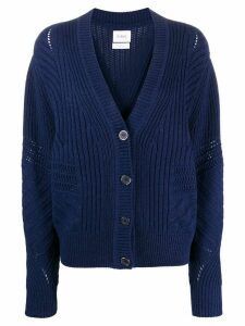 Barrie cable knit cardigan - Blue