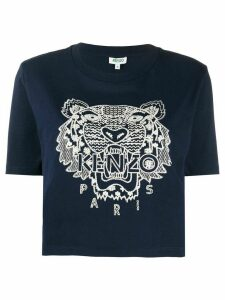 Kenzo embroidered Tiger T-shirt - Blue