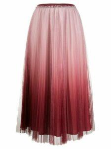 RedValentino pleated tulle midi-skirt