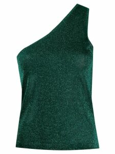 Missoni one-shoulder glitter effect top - Green