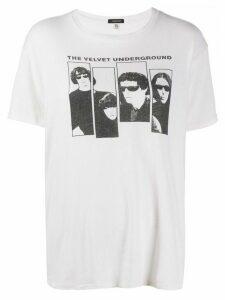 R13 The Velvet Underground T-shirt - NEUTRALS