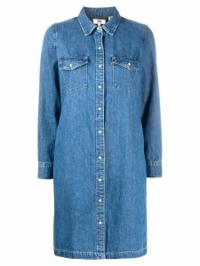 Levi's denim shirt dress - Blue
