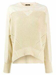 Diesel oversized combined jumper - Yellow