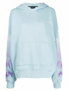 AMIRI oversized hoodie - Blue