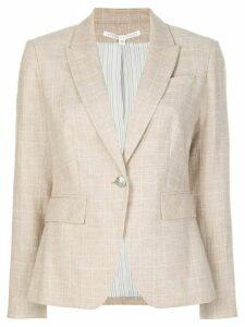 Veronica Beard cutaway dickey jacket - NEUTRALS