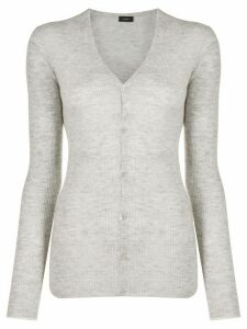 Joseph ribbed knit cardigan - Grey
