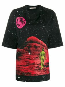 Christopher Kane Mountain Lady print T-shirt - Black