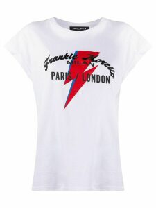 Frankie Morello graphic-print crew neck T-shirt - White