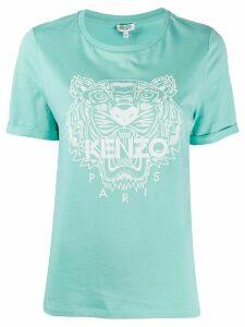 Kenzo tiger logo T-shirt - Blue