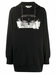 Golden Goose oversized car hoodie - Black
