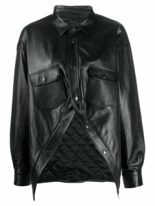 Balenciaga Swing Canadian shirt jacket - Black