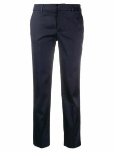 Pt01 tailored slim-fit trousers - Blue