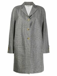 Ermanno Scervino single breasted coat - Black