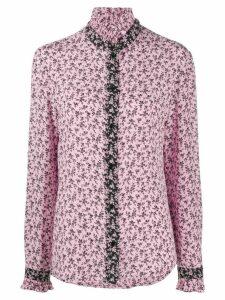 Philosophy Di Lorenzo Serafini ruffle-collar floral-print blouse -