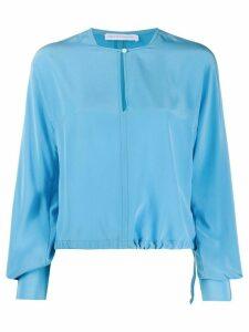 Société Anonyme silk long sleeve blouse - Blue