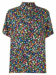 R13 star print shirt - Black