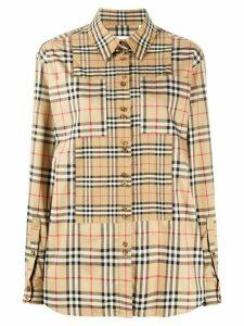 Burberry Vintage Check shirt - NEUTRALS