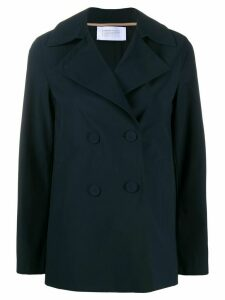 Harris Wharf London fitted double breasted jacket - Blue