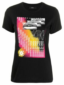 Diesel T-Sily-S5 graphic print T-shirt - Black