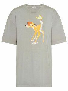 Miu Miu x Disney Bambi print T-shirt - Grey