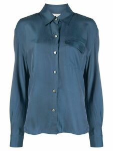 Vince lightweight long sleeved shirt - Blue