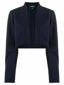 Lauren Ralph Lauren cropped knitted cardigan - Blue