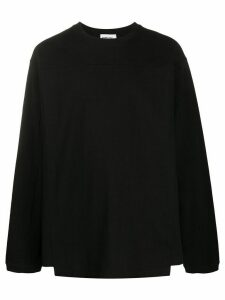 AMBUSH crew neck oversized fit jumper - Black