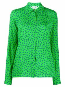 P.A.R.O.S.H. heart print loose-fit shirt - Green