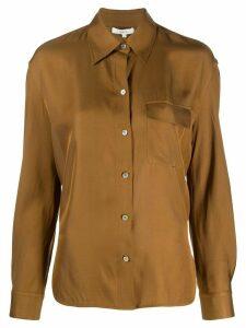 Vince lightweight buttoned shirt - Brown