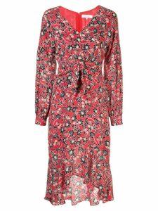 Parker Kinsale floral print dress - Red