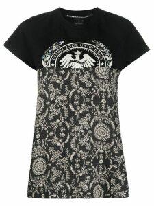 Pinko panelled T-shirt - Black
