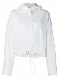 Alexander Wang Henley shirt jacket - White