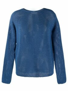 Christian Wijnants Kase crew neck jumper - Blue