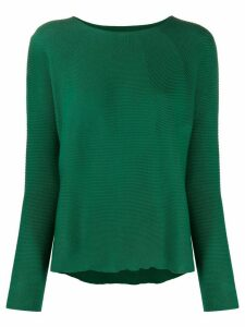Christian Wijnants Kain crew neck jumper - Green