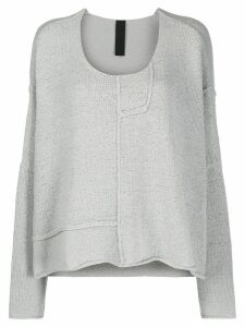 Rundholz distressed style oversized jumper - Grey