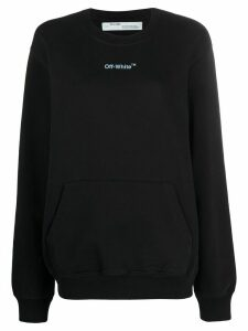 Off-White Arrows Sketches sweatshirt - Black