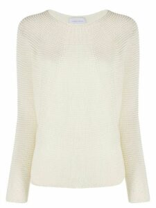 Christian Wijnants Kase crew neck jumper - NEUTRALS