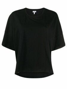 Loewe cropped T-shirt - Black