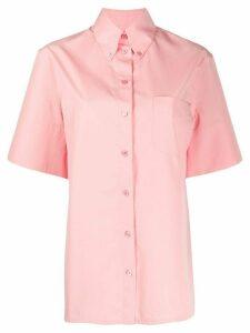 Salvatore Ferragamo button-down collar shirt - PINK