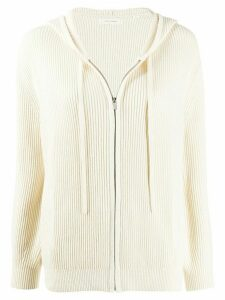 Chinti and Parker ribbed knit cardigan - NEUTRALS