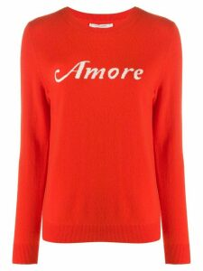 Chinti and Parker Amore knit jumper - Red