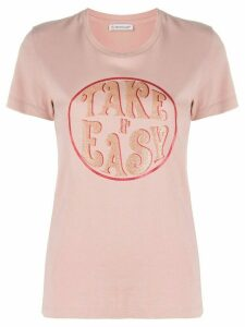 Moncler Take It Easy T-shirt - PINK