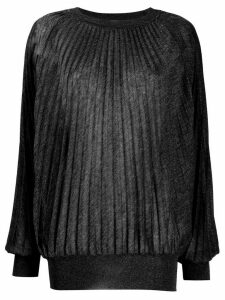 Marco De Vincenzo pleated jumper - Black