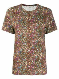 Marco De Vincenzo printed T-shirt - Brown