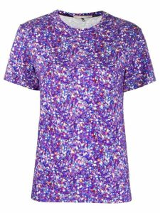 Marco De Vincenzo graphic print T-shirt - PURPLE