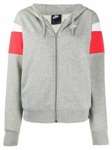 Nike colour-block hoodie - Grey