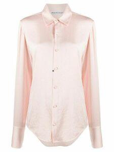 T By Alexander Wang Wash + Go regular-fit shirt - PINK