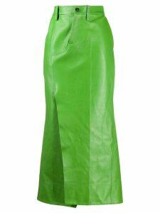 Marni straight midi skirt - Green