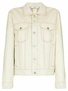 Eytys Buck Tar denim jacket - White